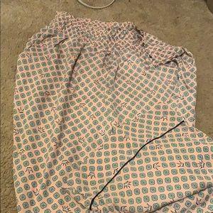 Aerie Crown pajama pants